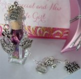 Sugar & Spice Baby Girl wish vessel shower gift