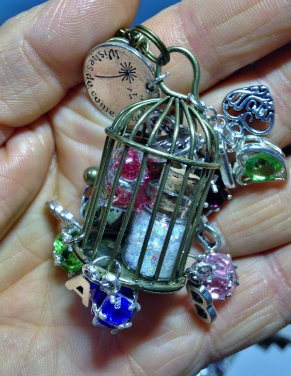 Caged Birthstone Wishes for Mom