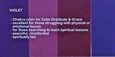 What Does The Color Purple Mean Spiritually | New House Designs