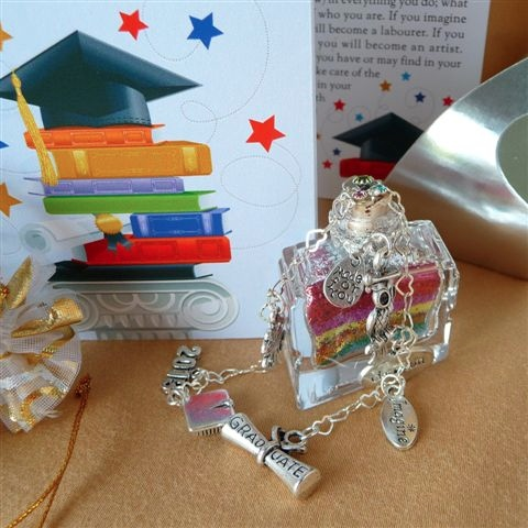 Graduation wish vessel gift from Captured Wishes