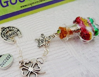 Captured Wishes Good Luck Charm, for those moments when you want to wish somebody good fortune, but cannot find the words.