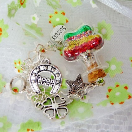 Good Luck Charm wish vessel from Captured Wishes