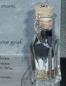 closeup of Grief Release wish vessel to order from Captured Wishes