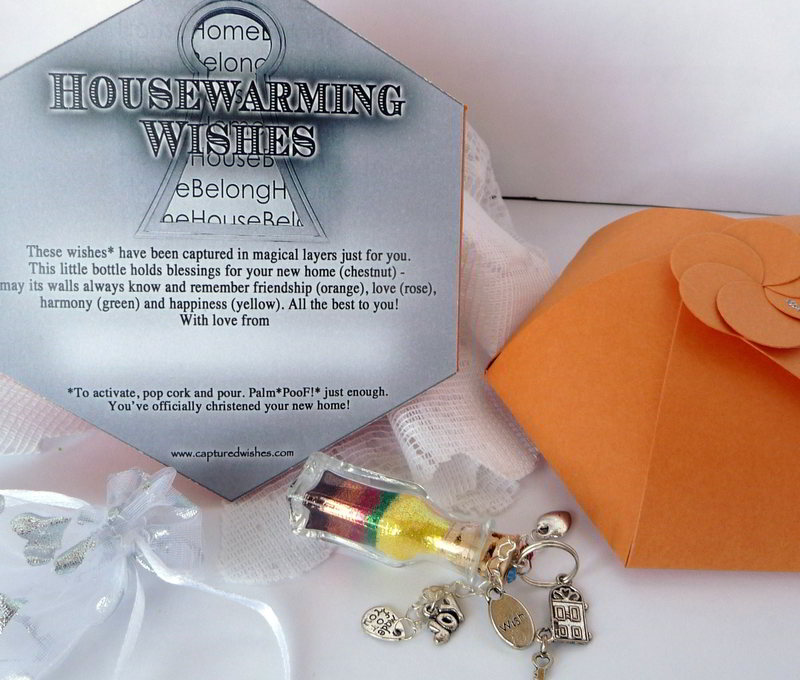 Unique housewarming gift from captured wishes for Unique new home gifts